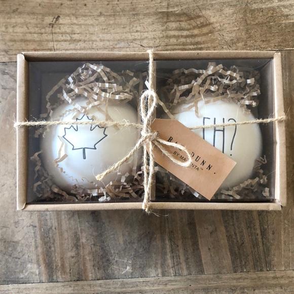 BRAND NEW Rae Dunn Holiday Christmas Ornaments
